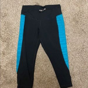 Black workout Capri pants